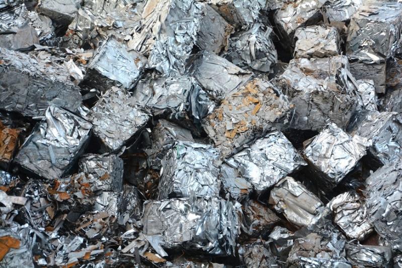 Empresa com Processo de Reciclagem Metal Núcleo Residencial Rosália IV - Processo de Reciclagem Aluminio