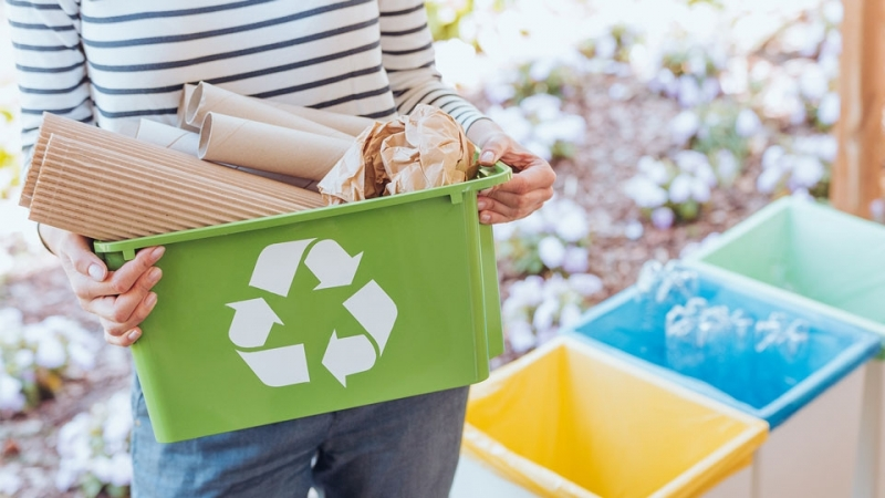 Empresa com Processo de Reciclagem Papelão Jardim Santa Marcia - Processo de Reciclagem de Lixo