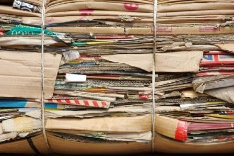 Empresa de Reciclagem de Papel Cartão Chácara Leandro - Reciclagem de Papel de Empresas