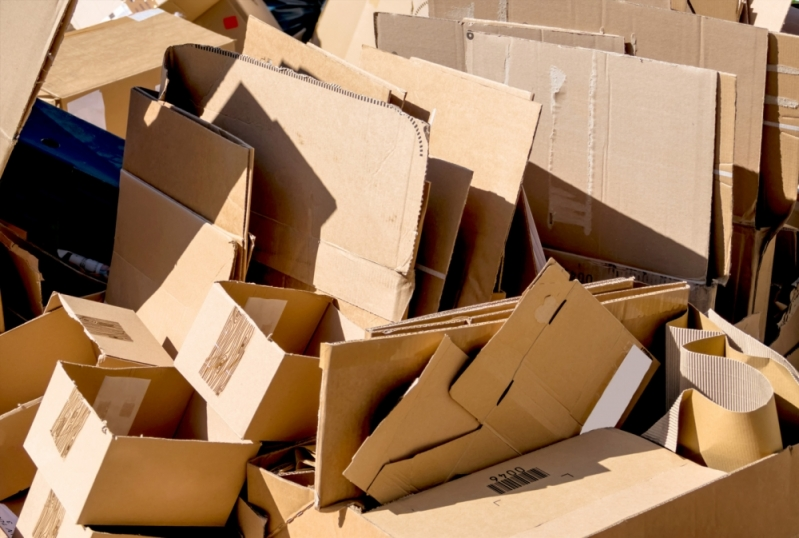 Empresa de Reciclagem Papelão Residencial Colinas - Empresa de Reciclagem de Resíduo