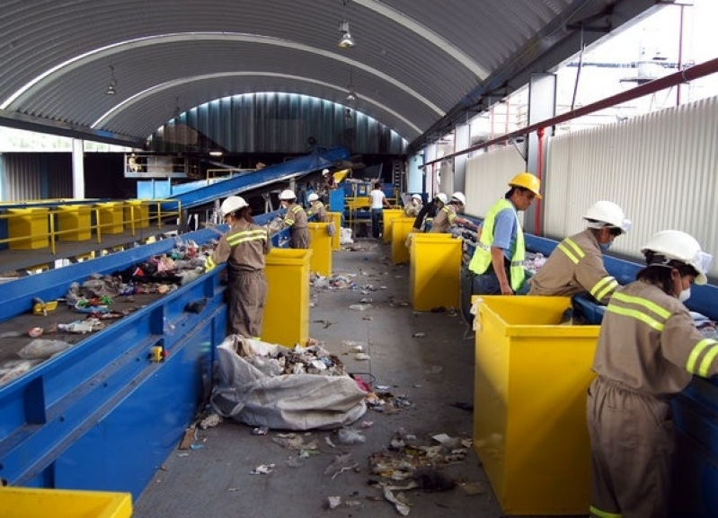 Onde Encontrar Processo de Reciclagem Industrial Condomínio Estância Paraíso - Processo de Reciclagem de Plastico