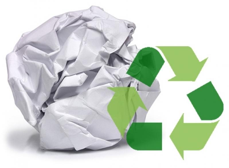 Processo de Reciclagem de Papel Vila Maringá - Processo de Reciclagem de Lixo