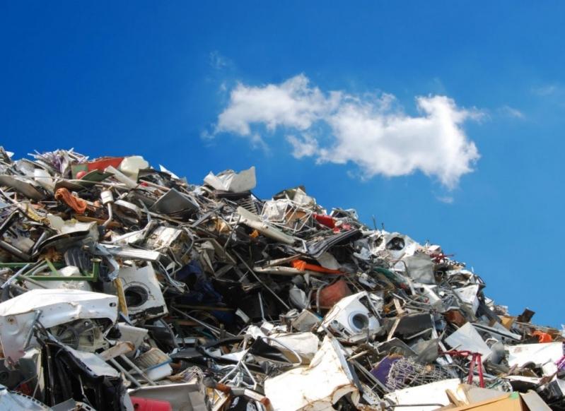 Processo de Reciclagem de Sucata Metalica Reserva da Floresta - Reciclagem de Sucata Eletrônica