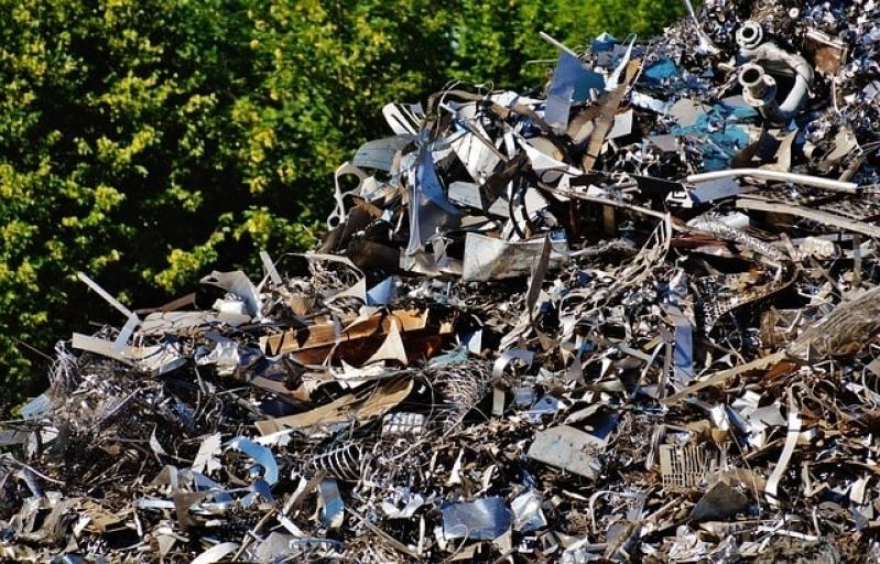 Processo de Reciclagem Sucatas Metálicas Parque Residencial Jundiaí II1 - Reciclagem de Sucata Eletrônica