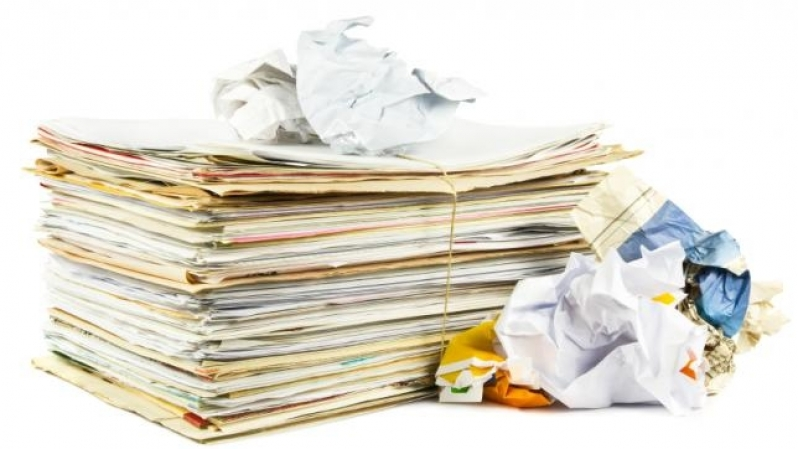 Quanto Custa Reciclagem de Papel Cartão Parque Manchester - Reciclagem de Papel Industrial