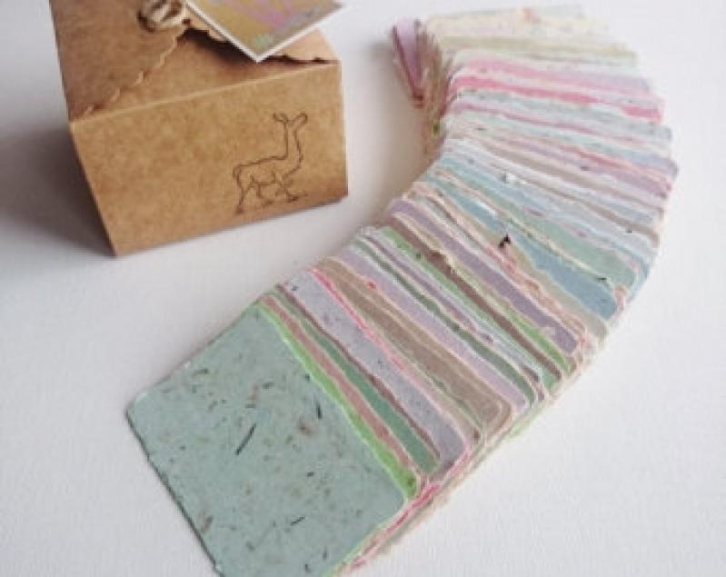 Reciclagem de Papel Artesanal Marco Leite - Reciclagem de Papel Cartão
