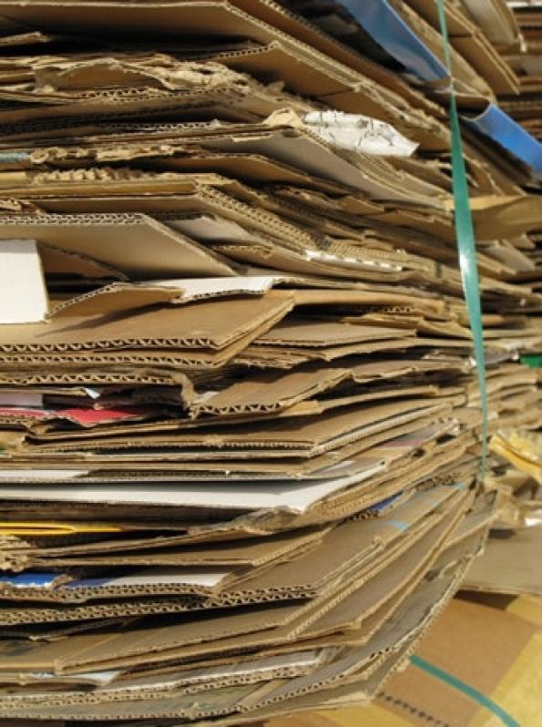 Reciclagem de Papel Cartão Chácara Portão do Castanho - Reciclagem de Papel Cartão