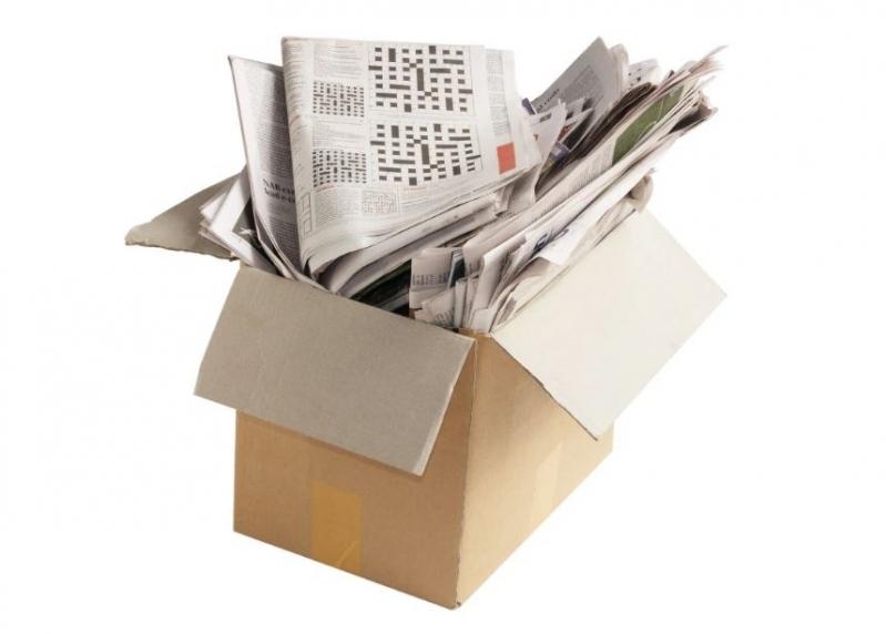 Reciclagem de Papel e de Papelão Jardim Carolina - Reciclagem de Papelão