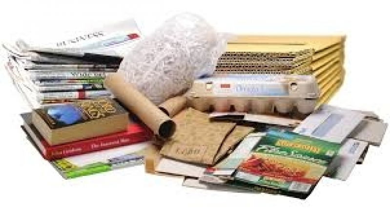 Reciclagem de Papel e Papelão Chácara Boa Vista - Reciclagem de Papelão Absorvente