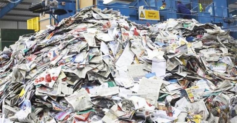 Reciclagem de Papel Industrial Chácaras Três Marias - Reciclagem de Papel Industria