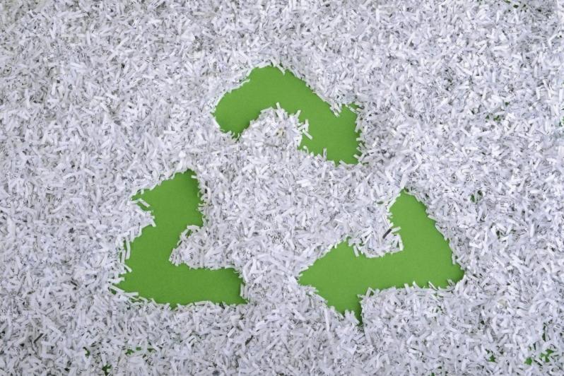 Reciclagem de Papel Valores Vila Casa Nova - Reciclagem de Papel Aluminio