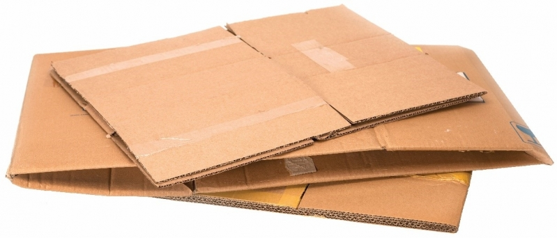 Reciclagem de Papelão Cartonado Jardim Gonçalves - Reciclagem de Caixa Papelão