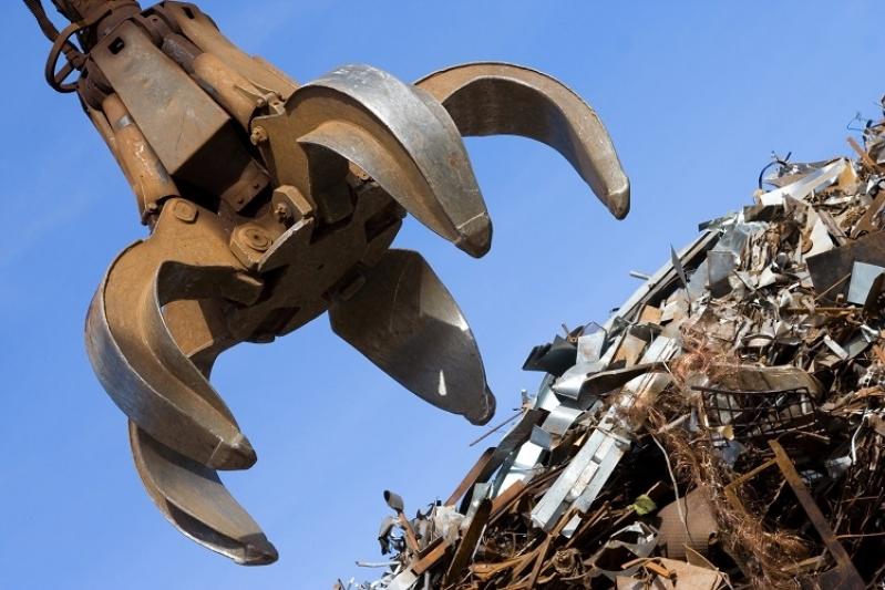 Reciclagem de Sucata de Ferro Orçar Nova Sorocaba - Reciclagem de Sucatas Metálicas