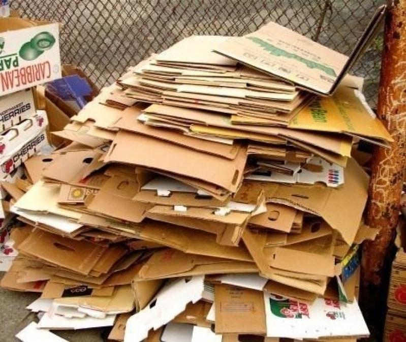 Serviço de Reciclagem de Caixa Papelão SANTA ODILA - Reciclagem de Papelão Cartonado