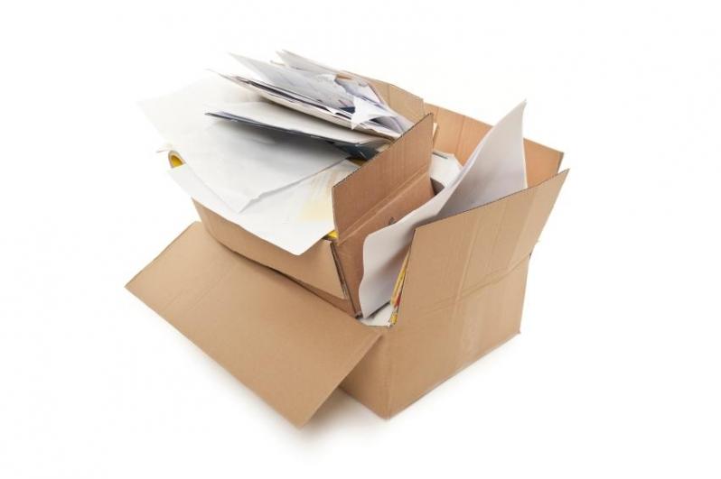 Serviço de Reciclagem de Papel e Papelão Chácara Recreio - Reciclagem de Caixa Papelão