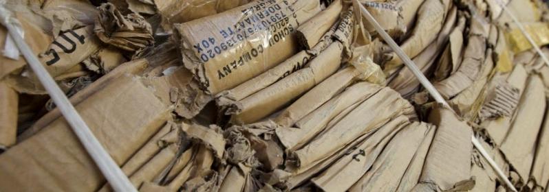 Serviço de Reciclagem de Papelão Absorvente Sarapuí - Reciclagem Tubo de Papelão