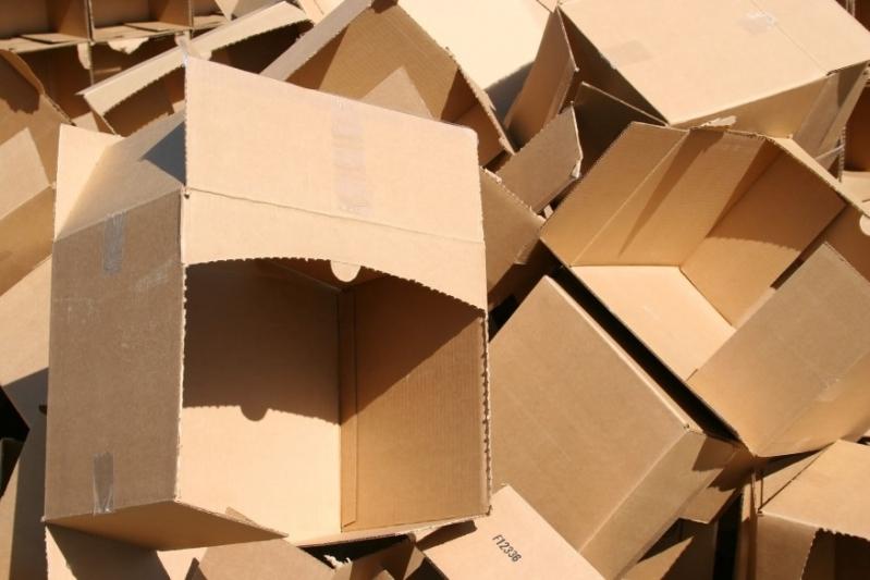 Serviço de Reciclagem de Papelão Marechal Rondon - Reciclagem de Caixa Papelão