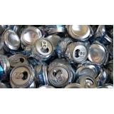 coleta e reciclagem de sucata de aluminio Vila Janete