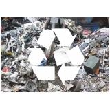 coleta e reciclagem de sucata Chácara Recreio Santa Terezinha