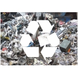 coleta e reciclagem sucatas metálicas Jardim Flamboyant