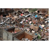 empresa com processo de reciclagem de metais Fazenda Santa Maria