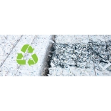 empresa com processo de reciclagem de papel Araçariguama