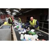 empresa com processo de reciclagem de plastico Chácara das Videiras