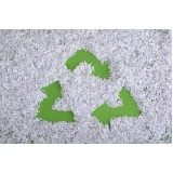 empresa com processo de reciclagem do papel picado Alumínio
