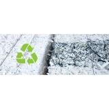 empresa com processo de reciclagem papel Fazenda Santa Maria