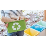 empresa com processo de reciclagem papelão Alto da boa vista