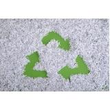 empresa com processo de reciclagem para papel picado Jardim Esplanada