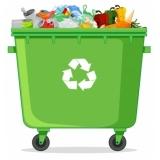 empresa de reciclagem de lixo e coleta seletiva Chácara Santa Luzia