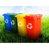 empresa de reciclagem de lixo Chácara Recreio Santa Terezinha