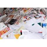 empresa de reciclagem de papel adesivo Campo Verde