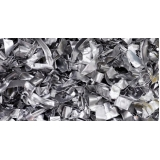 empresa de reciclagem de papel aluminio Chácara Recreio