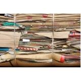 empresa de reciclagem de papel cartão Vila José Martins