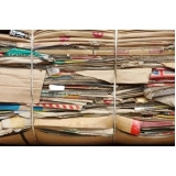 empresa de reciclagem de papel e cartão Residencial Terra Nova