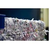 empresa de reciclagem de papel industrial Loteamento Center Santa Genebra