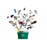 empresa de reciclagem de resíduo Jardim das Palmeiras