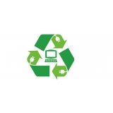 empresa de reciclagem lixo eletronico Jardim das Palmeiras