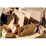 empresa de reciclagem papelão Parque Maria Helena