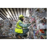 onde encontrar processo de reciclagem de lixo Parque Maria Helena