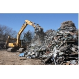onde encontrar processo de reciclagem de metais Chácara da Barra