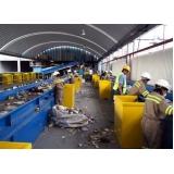 onde encontrar processo de reciclagem industrial Chácara das Videiras