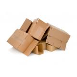 onde encontro reciclagem de caixa papelão Jardim das Orquídeas