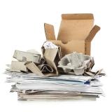 onde encontro reciclagem de papel e papelão Chácara Santa Luzia