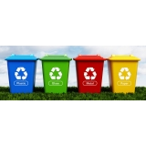 onde tem empresa de reciclagem de lixo Além Ponte