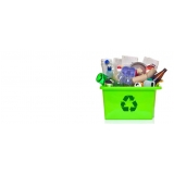 onde tem empresa de reciclagem de resíduo Jardim Guanabara