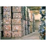 processo de reciclagem aluminio Chácara Planalto