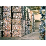 processo de reciclagem aluminio Vila José Iório